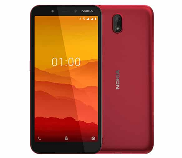 Nokia C1 Android GO 3G phone