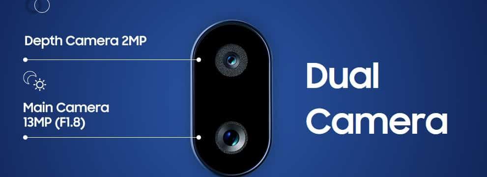 Samsung Galaxy A10s cameras
