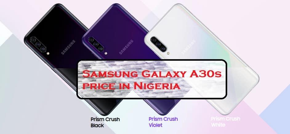 Samsung Galaxy A30s price in Nigeria