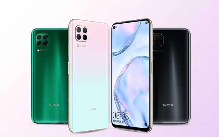 Huawei P40 Lite phone