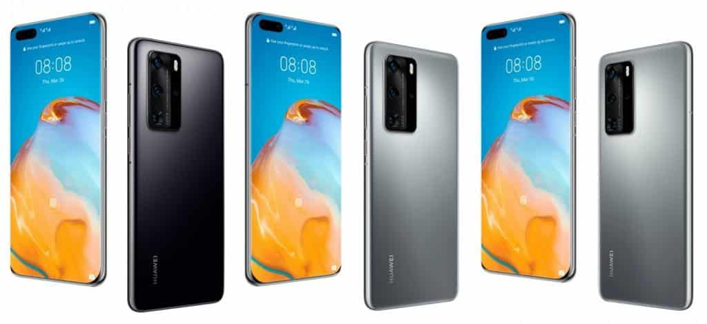HUAWEI P40 PRO and P40 PRO Plus