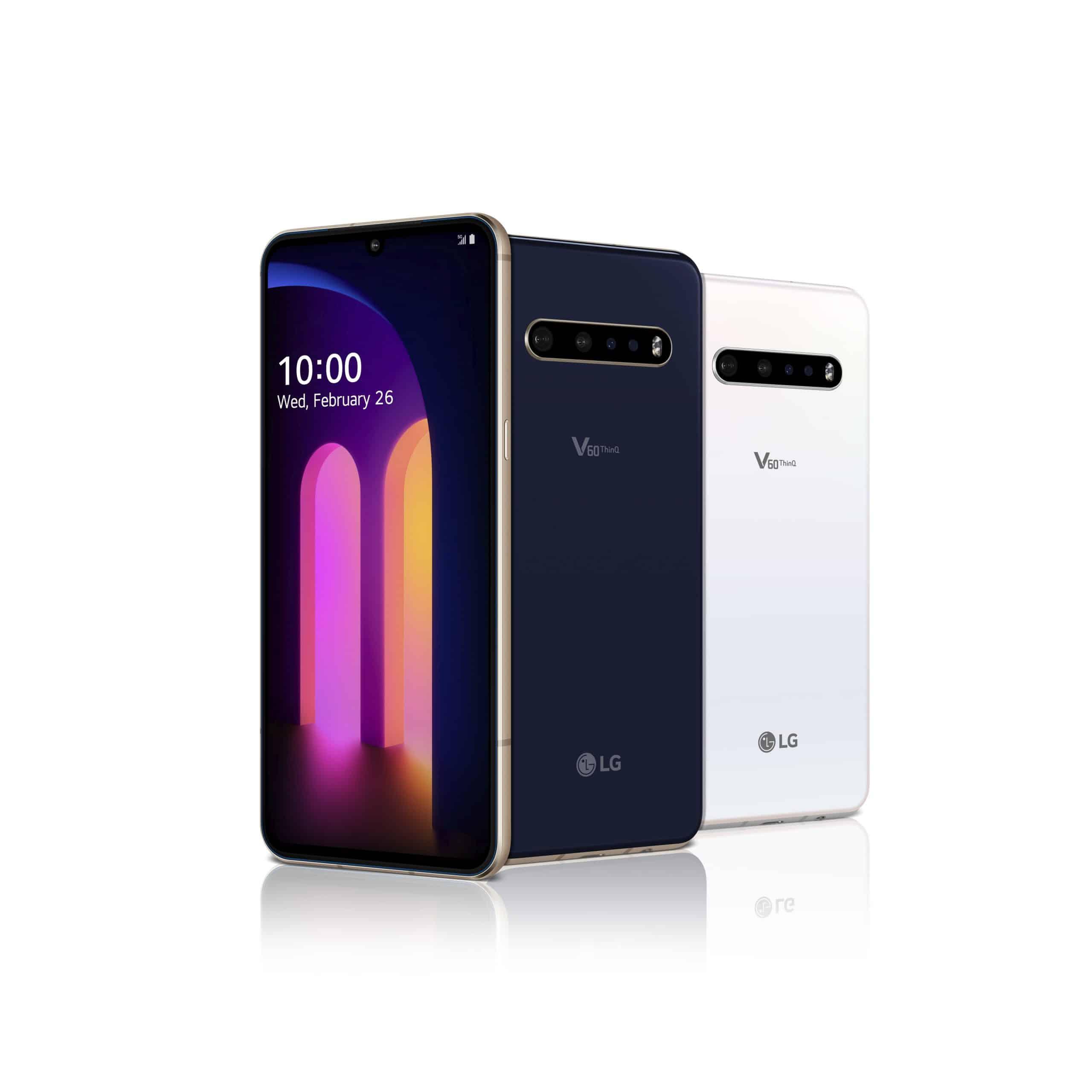 LG V60 ThinQ 5G with dual screen