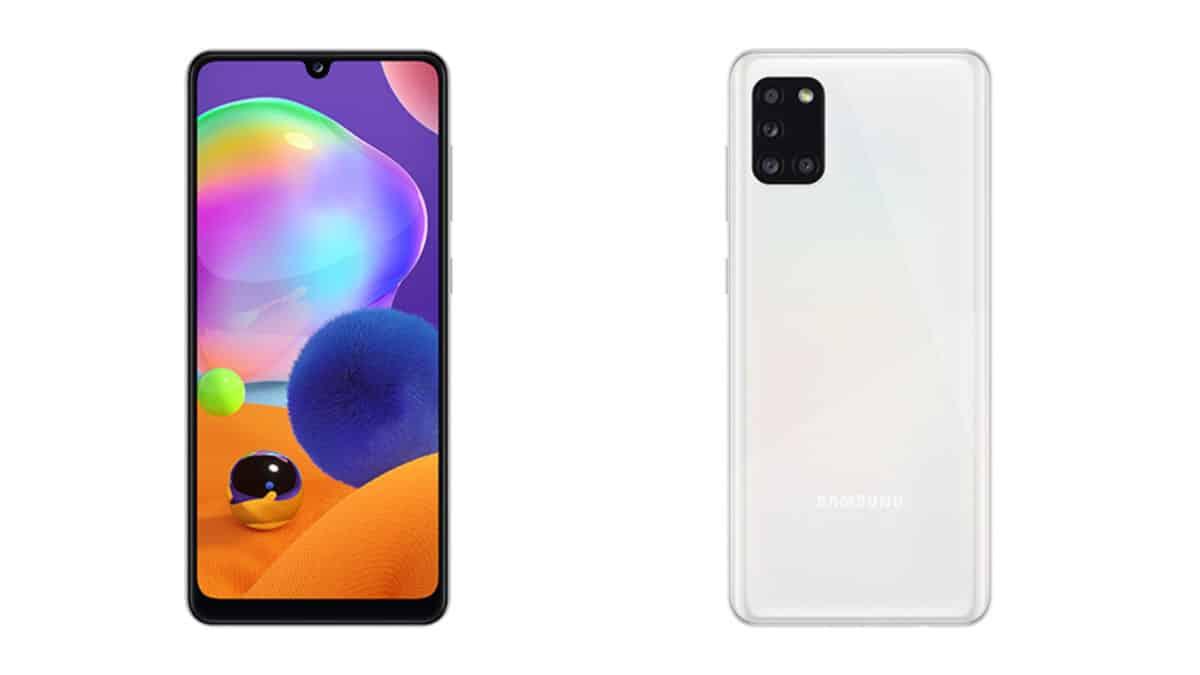 Samsung Galaxy A31 phone