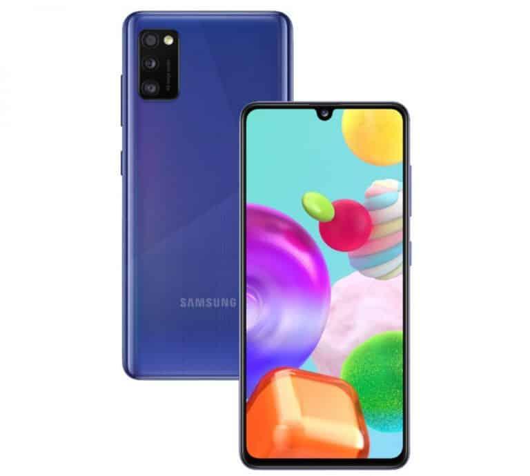 Samsung Galaxy A41 phone