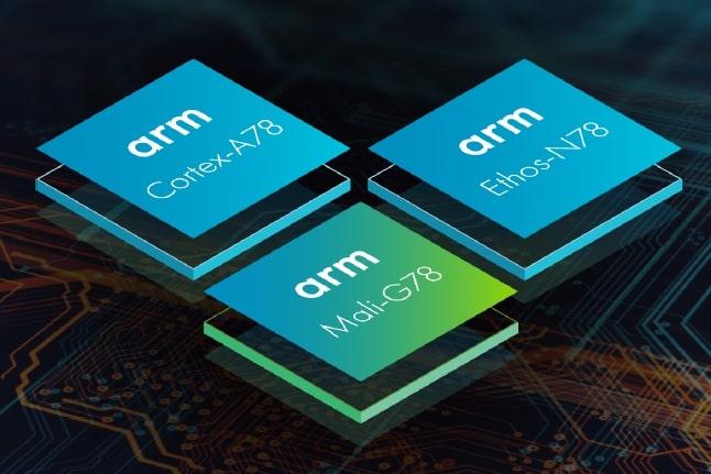 ARM Cortex-A78 CPU and Mali-G78 GPU