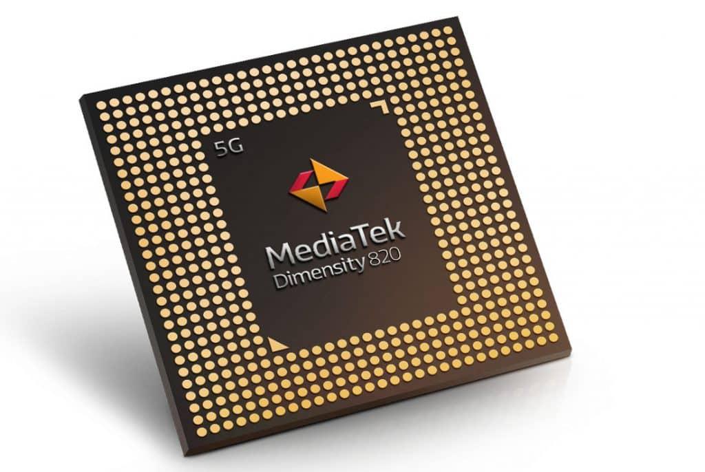 MediaTek Dimensity 820 chips