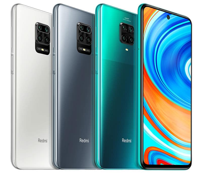 Redmi Note 9 Pro global variants