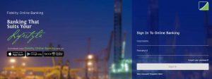 fidelity online banking website