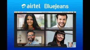 Airtel BlueJeans video conferencing app