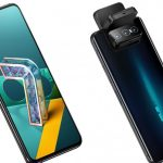 This is the Asus's Zenfone 7 series that gives you triple flipping cameras