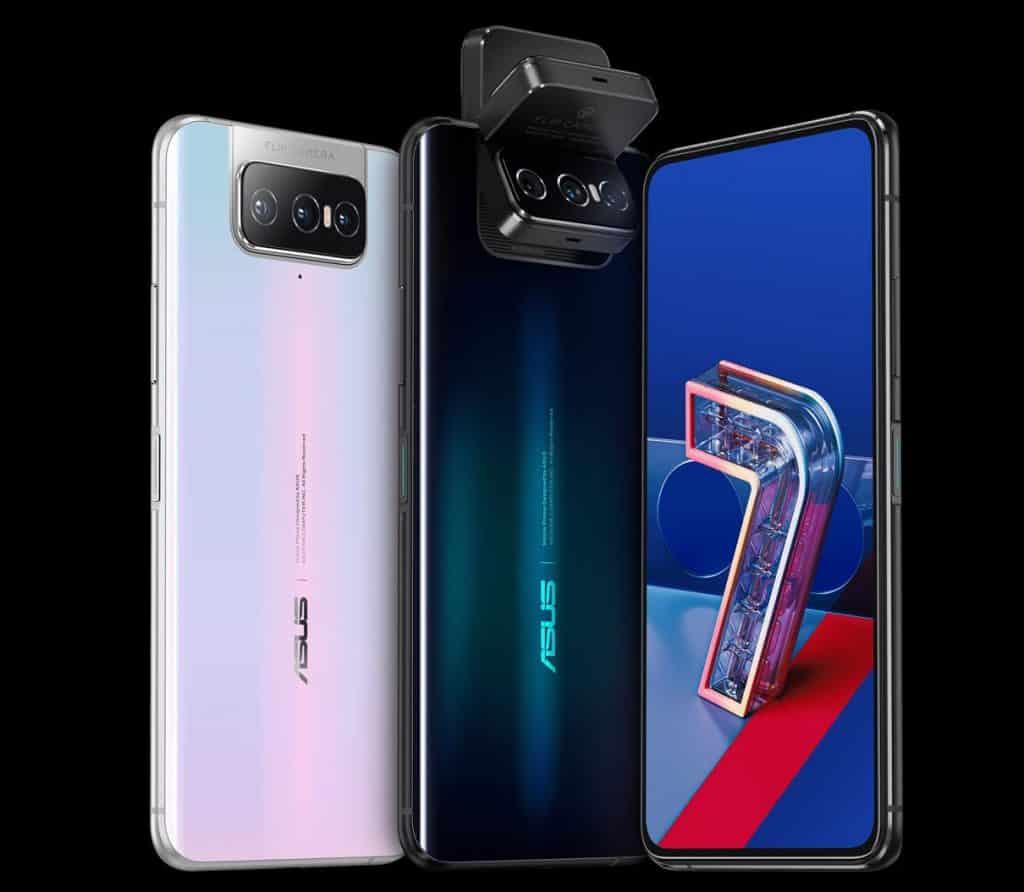 Asus Zenfone 7 and Zenfone 7 PRO flipping cameras phones