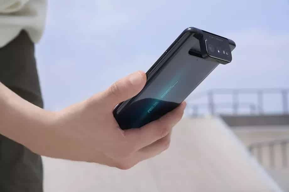 Asus Zenfone triple flipping cameras
