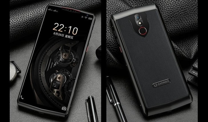 Gionee M30 with 10000mAh battery