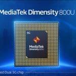 MediaTek Dimensity 800U announced with 5G + 5G dual SIM dual standby