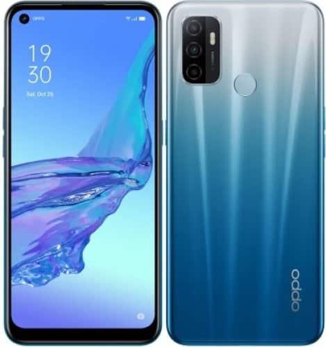 OPPO A53 fancy blue color