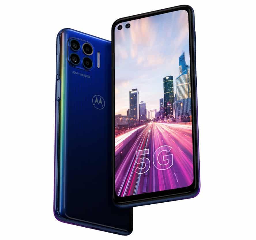 Motorola One 5G with six cameras