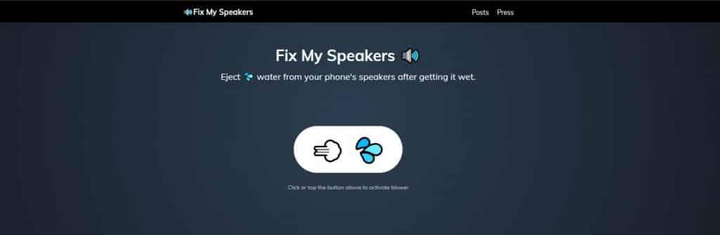 fixmyspeakers com homepage