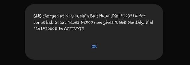 Airtel free confirmation message