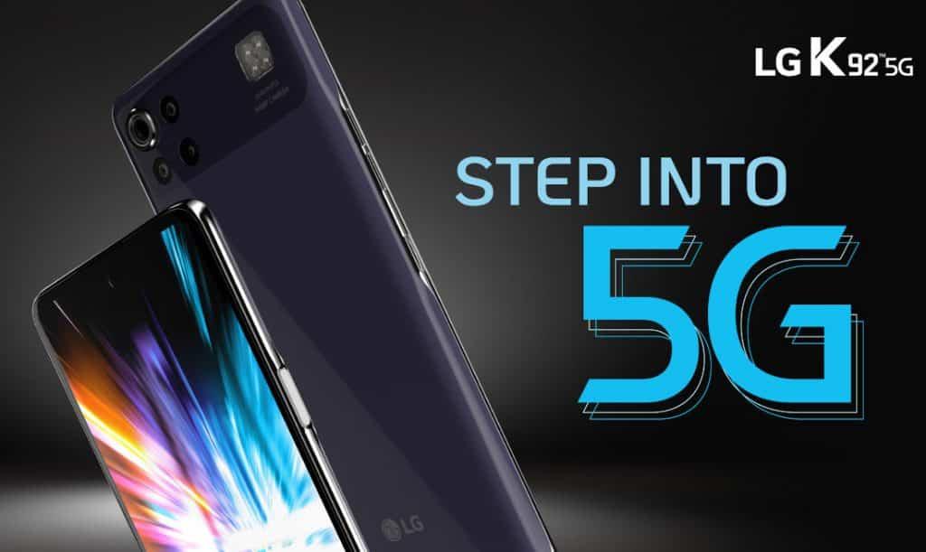 LG K92 5G Snapdragon 690 processor