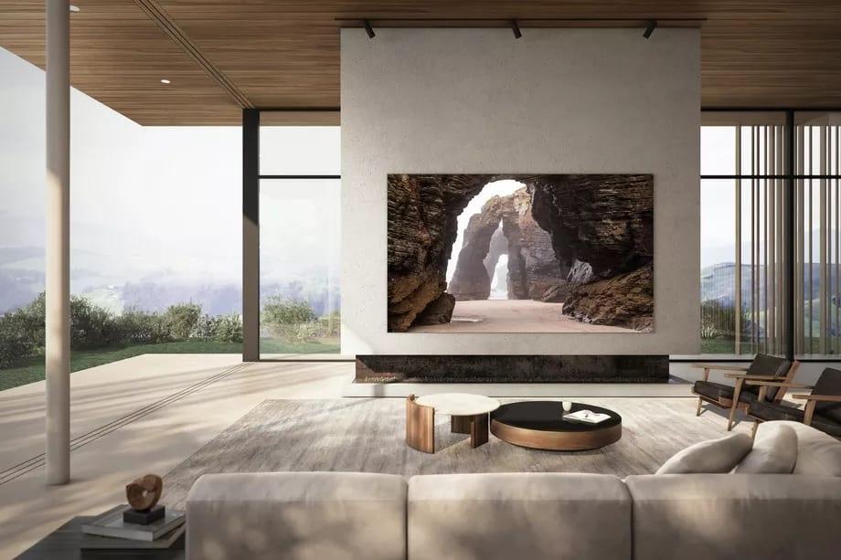 Samsung 110-inch 4K MicroLED TV