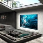This is Samsung 110-inch 4K MicroLED TV with latest picture technology