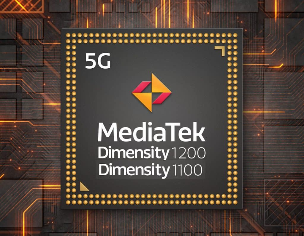 MediaTek Dimensity 1200 6nm and Dimensity 1100 SoC