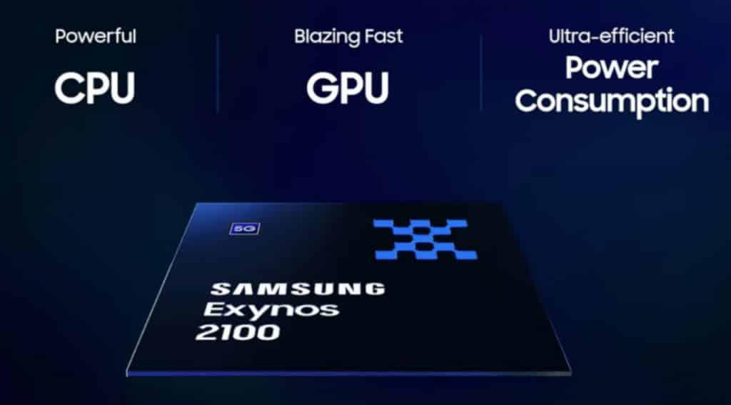 Samsung Exynos 2100 5nm EUV processor