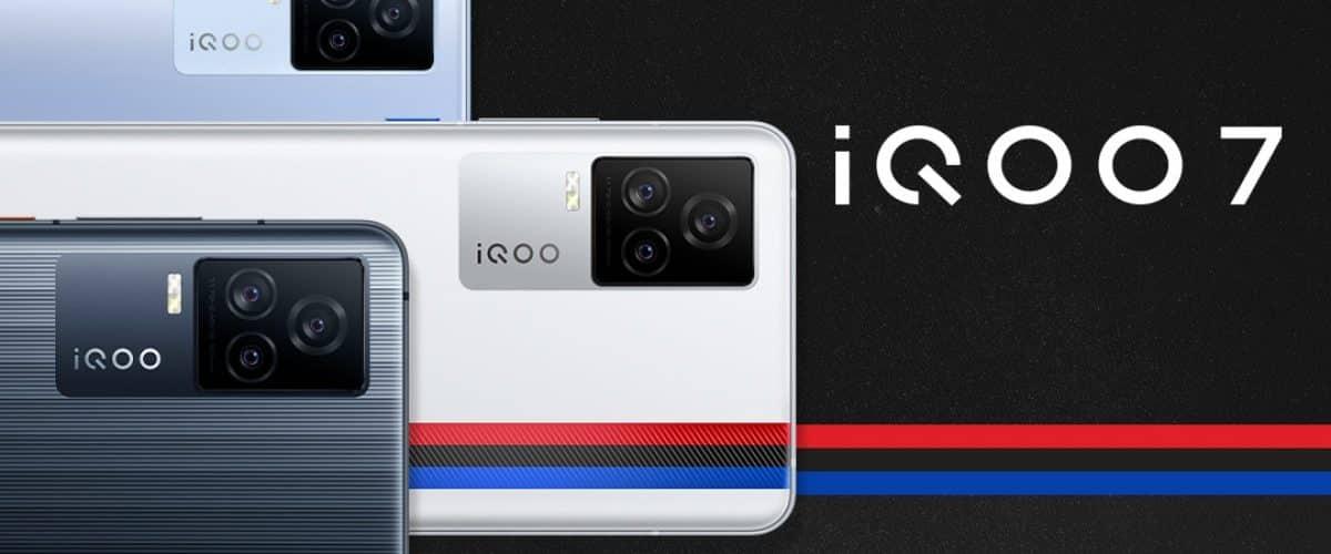 iQOO 7 triple rear camera