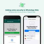 Whatsapp adds security authentication for web and desktop clients login