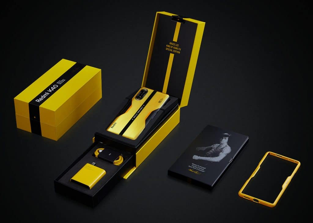 Redmi K40 Gaming Edition Bruce Lee Special Edition 12GB RAM and 256GB storage