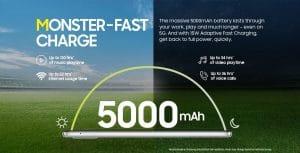Samsung Galaxy M42 5G 5000mAh battery