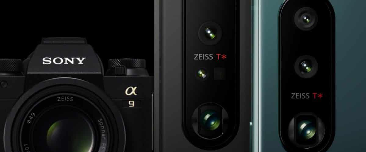 Sony Xperia 1 III and Xperia 5 III camera