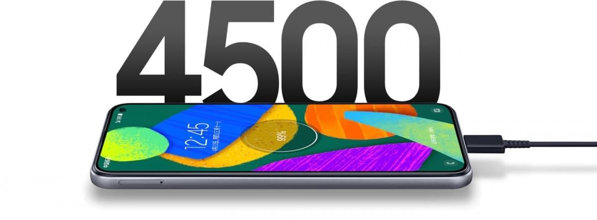 Samsung Galaxy F52 5G battery