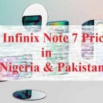 Infinix Note 7 Price in Nigeria and Pakistan - Specs and Price