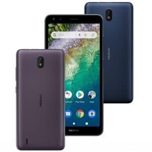 Nokia C01 Plus Android 11 Go Edition phone