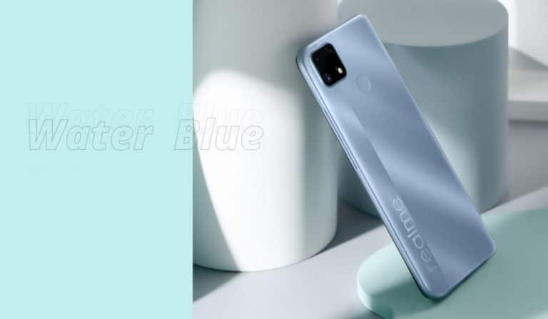 Realme C25s Water Blue