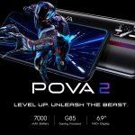 """TECNO POVA 2 announced with Helio G85, 6.9-inch"""" and 7000mAh"""