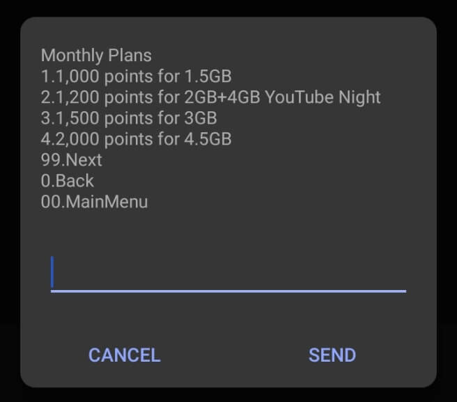 MTN Pulse Points - Monthly