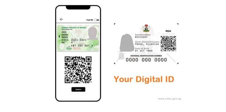 Online NIN Digital ID