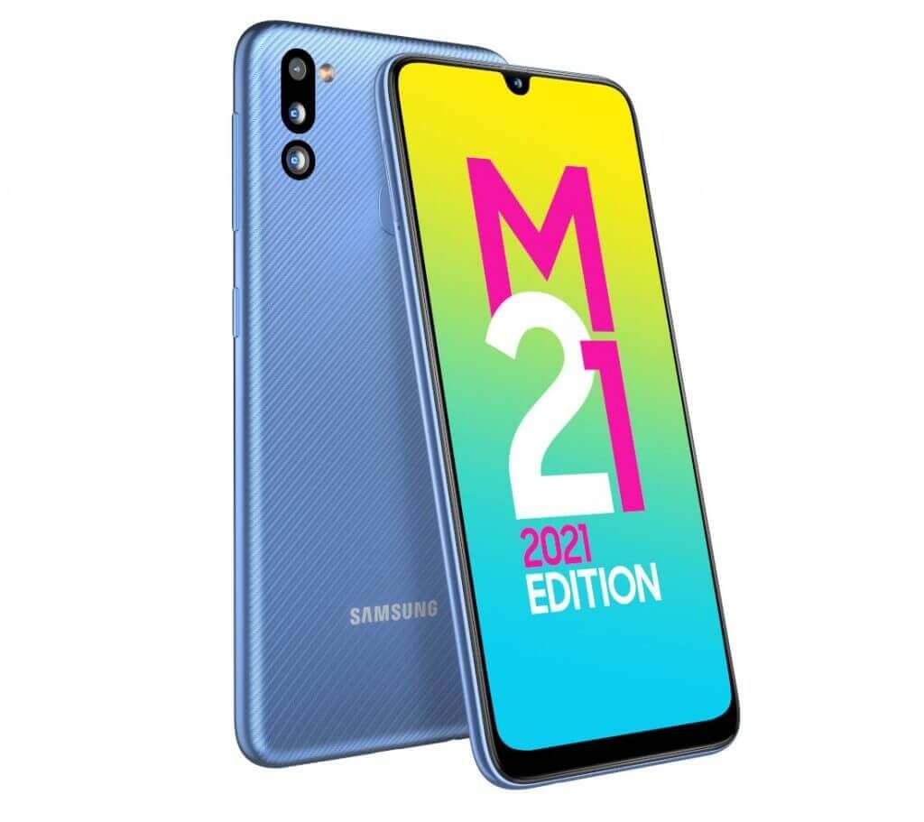 Samsung Galaxy M21 2021 Edition with 48MP