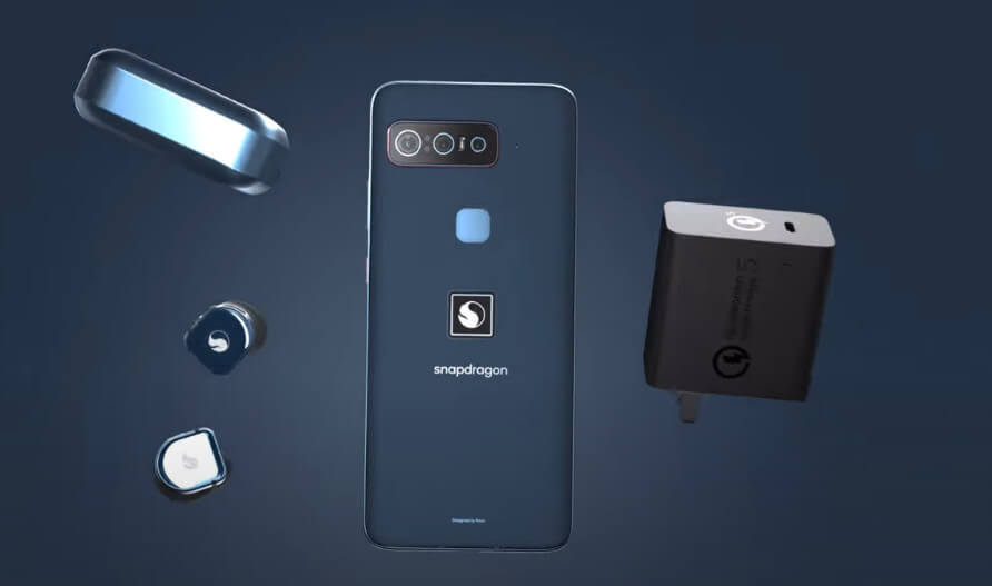 Smartphone for Snapdragon Insiders inside box
