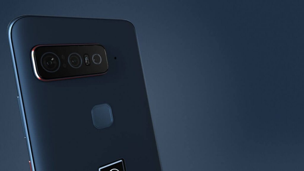 Smartphone for Snapdragon Insiders rear panel