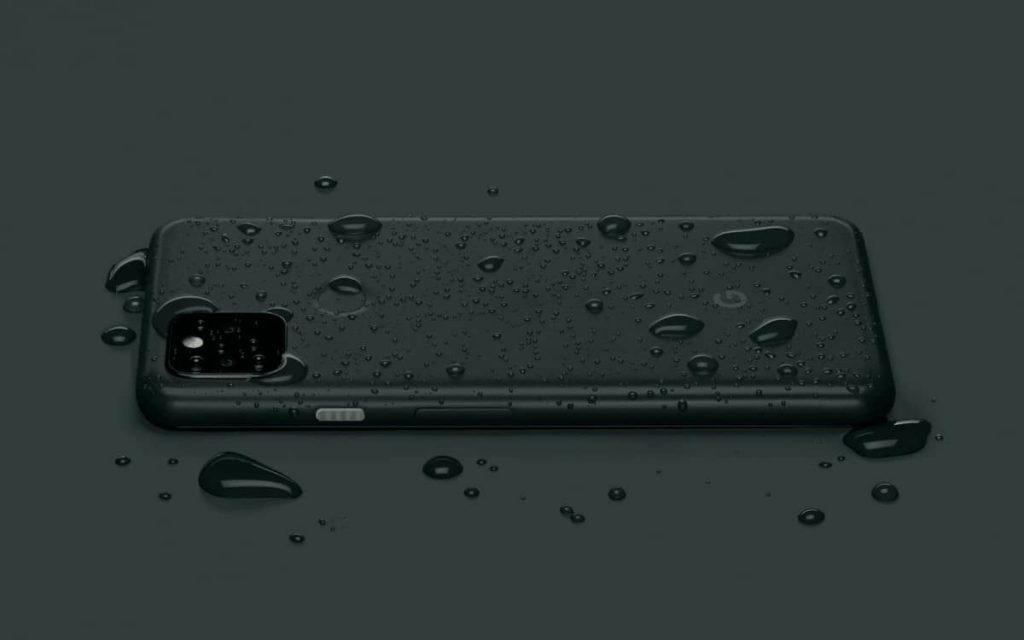 Google Pixel 5a 5G water-resistance