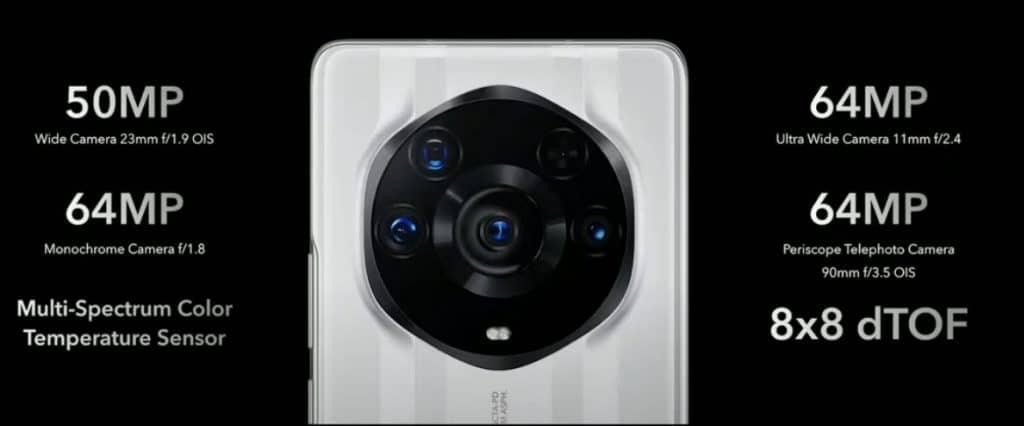HONOR Magic 3 Pro Plus camera specs