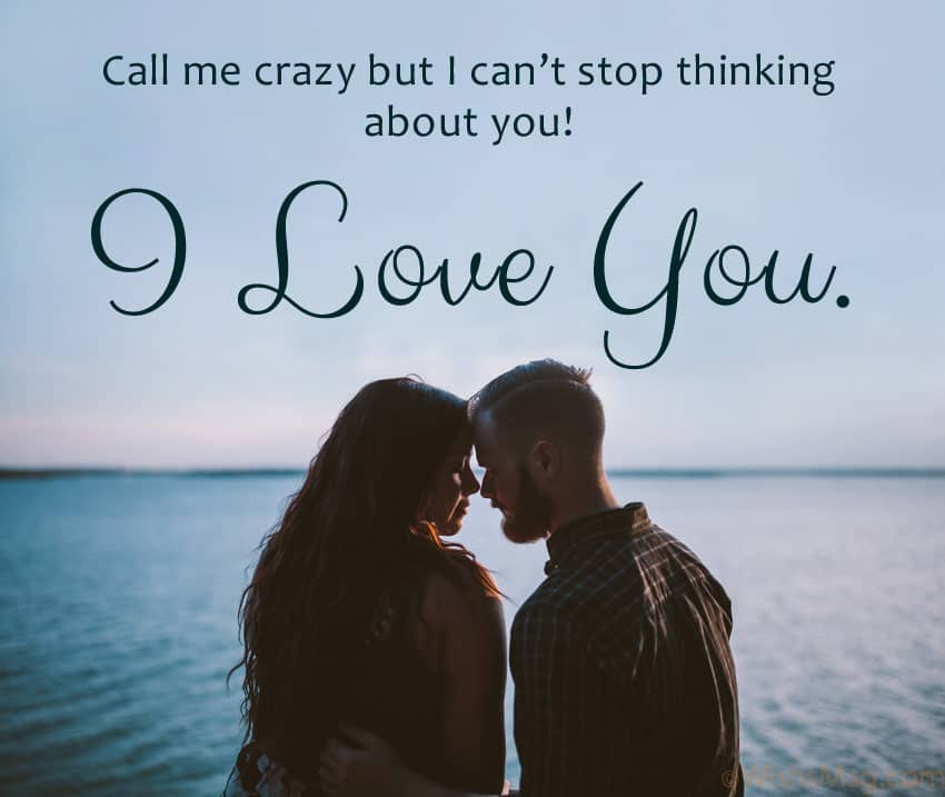 Most touching love messages for her