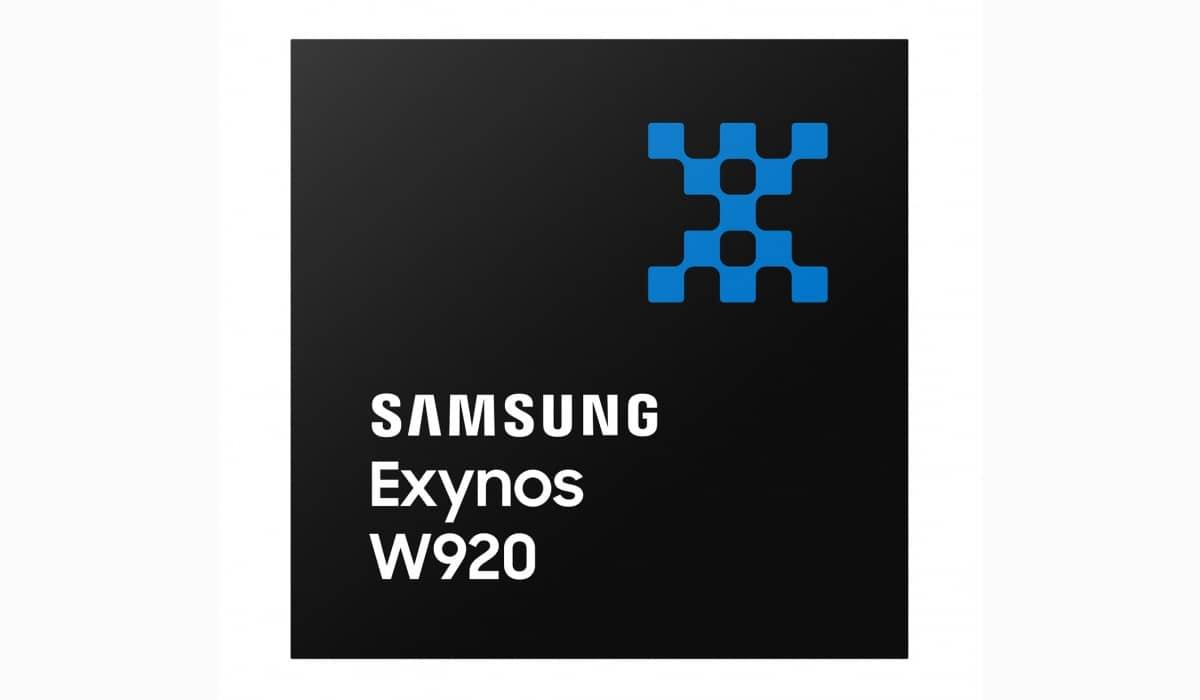Samsung Exynos W920 5nm chipset