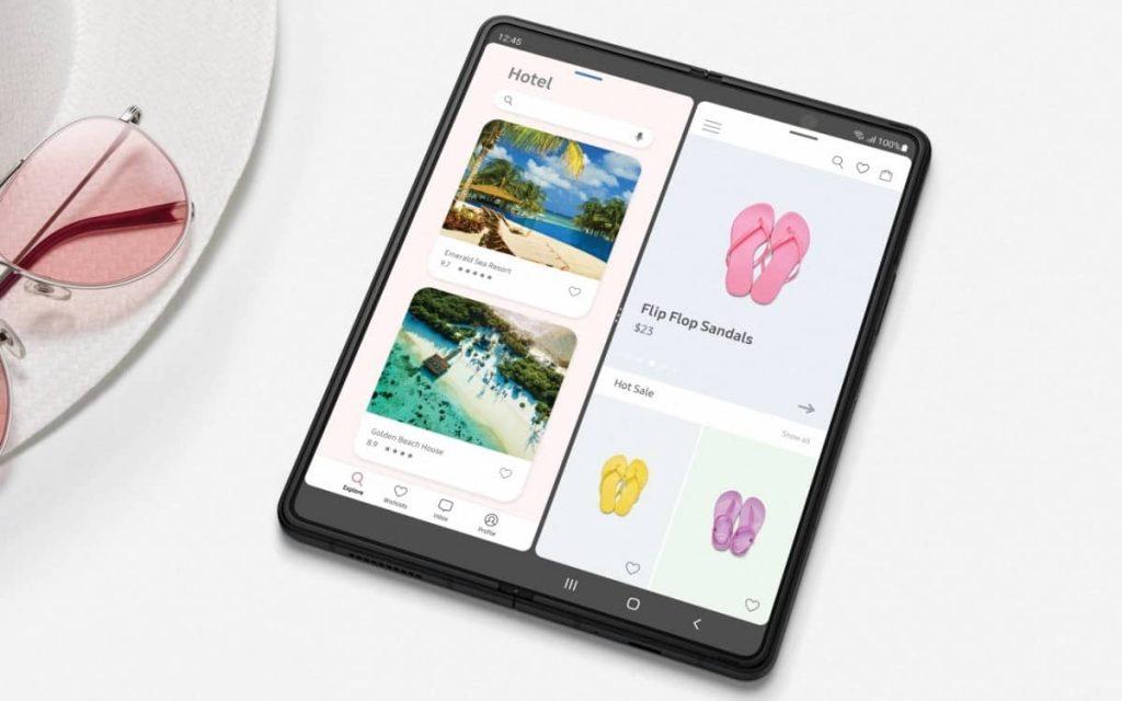 Samsung Galaxy Z Fold 3 5G display