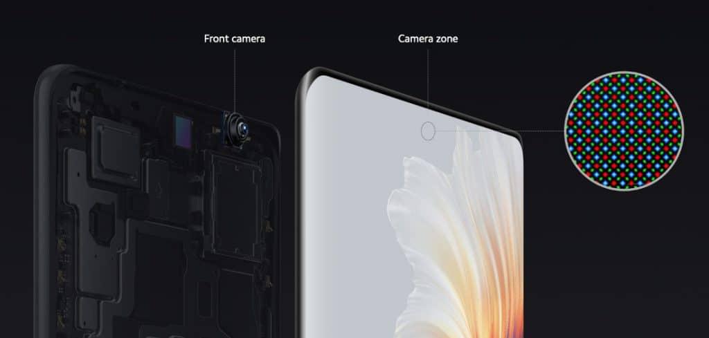 Xiaomi Mi MIX 4 front camera