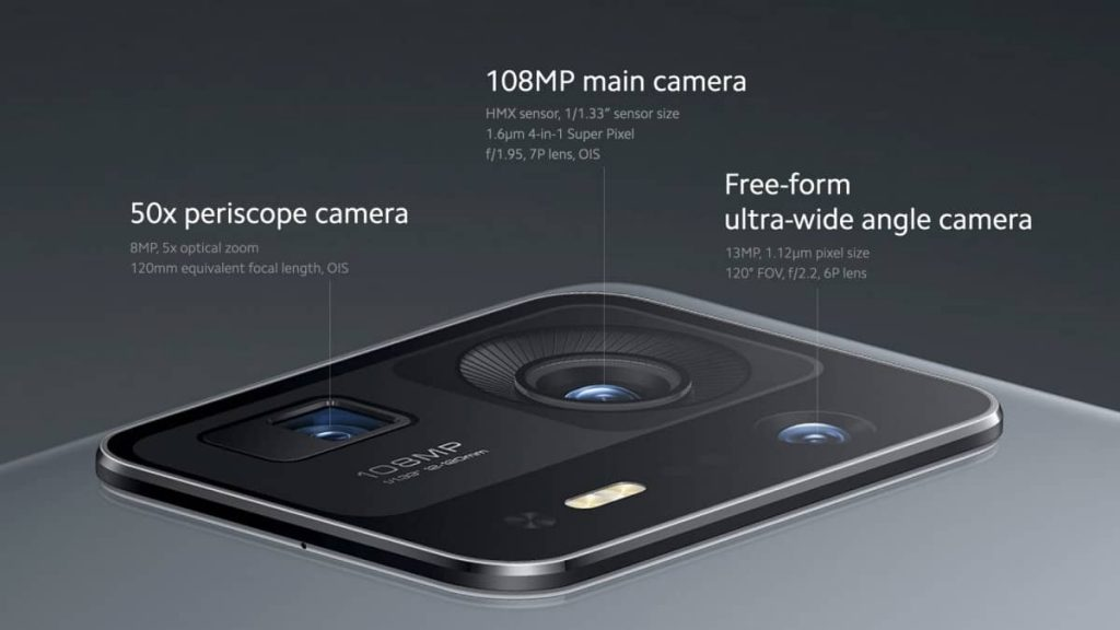Xiaomi Mi MIX 4 rear camera