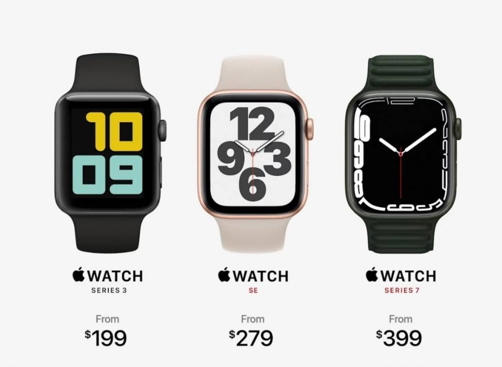 Apple Watch Series 7 Prices